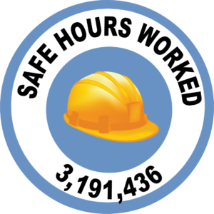 Safe Hours Worked graphic 3191436 hours